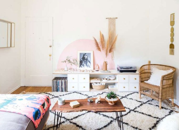 Ritzy Girl's Room with Rustic Touches