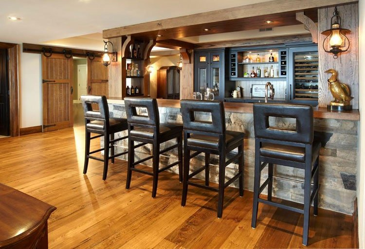 Rustic Bar Decor To Liven Up Your Style