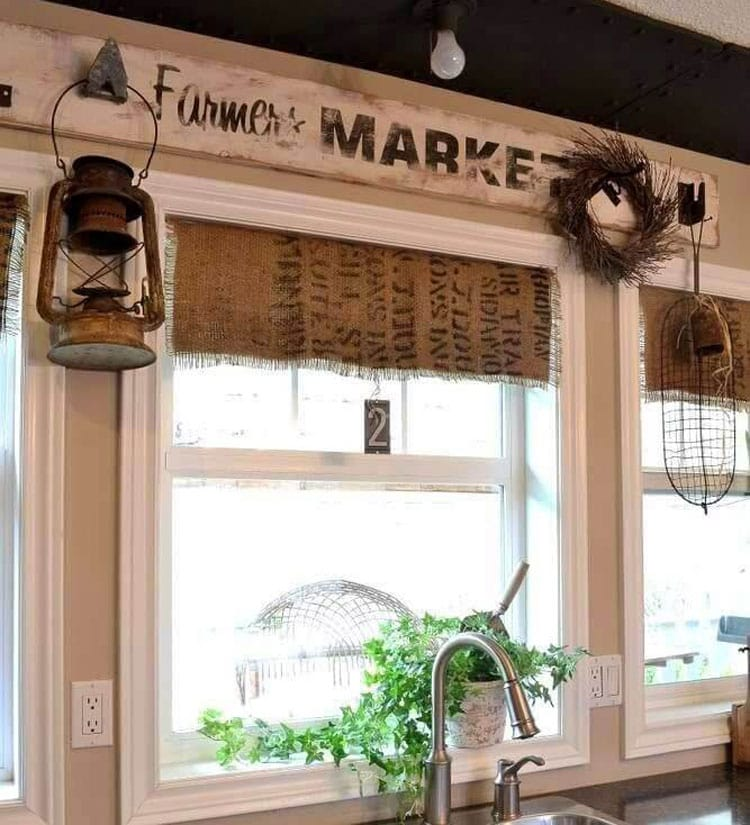 Rustic Kitchen Wall Decorations