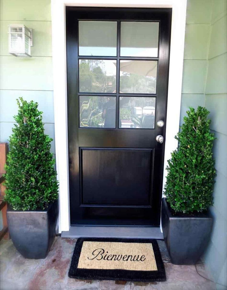 Simple Front Porch Plants