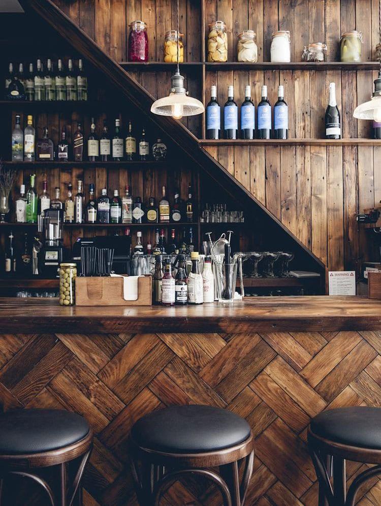 Simple Small Basement Bar Decorating Ideas