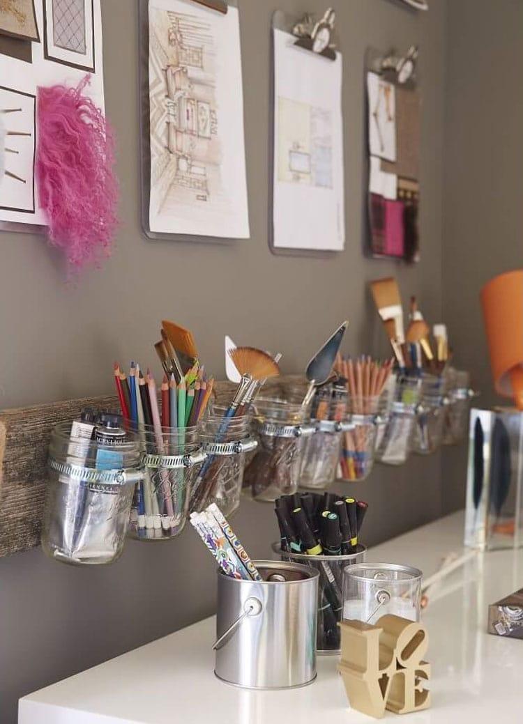 Teen Girl Room Décor - DIY Organizers
