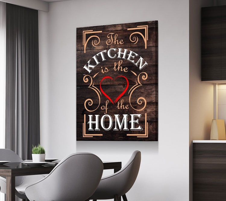 Trendy Kitchen Wall Art Signs