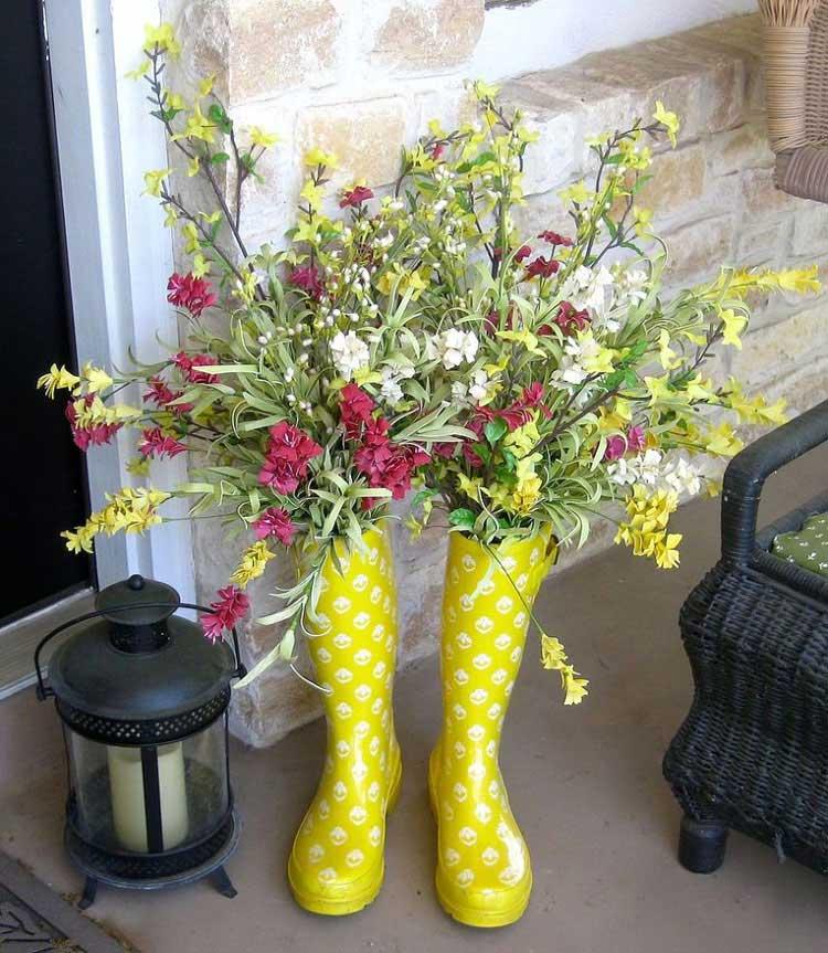 Unique Front Door Flower Decor Ideas