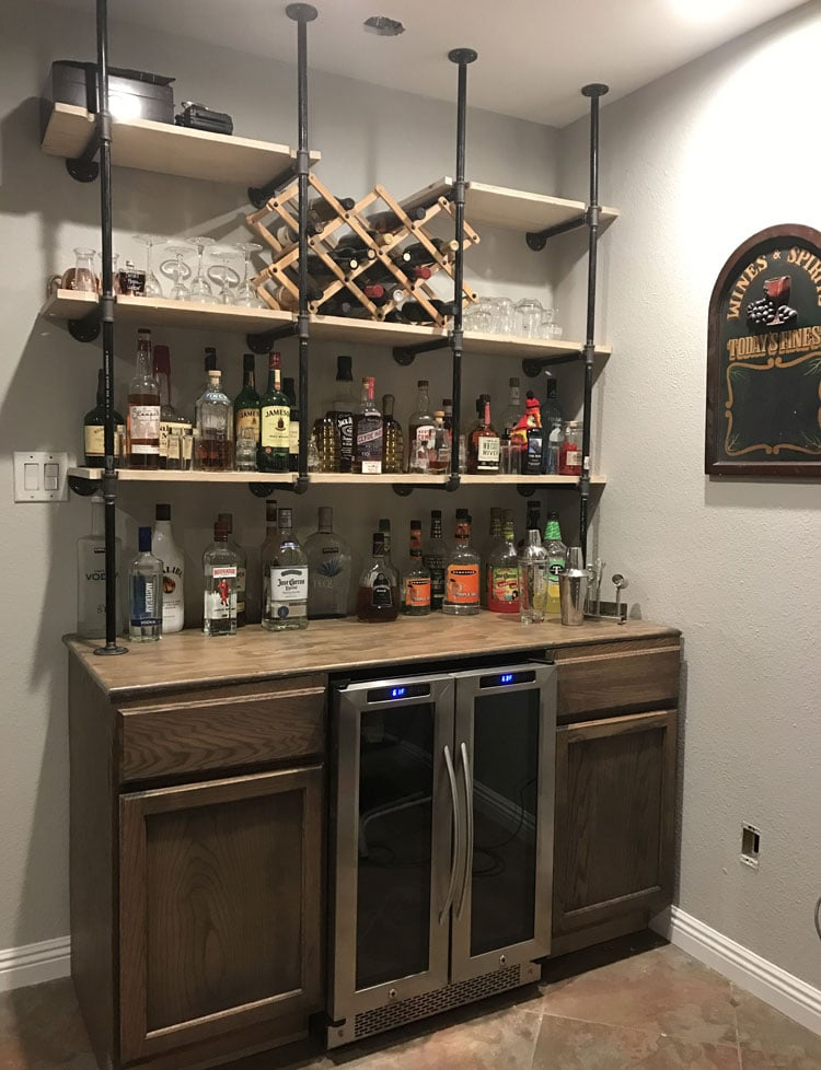 Wall Bar Ideas For Small Spaces