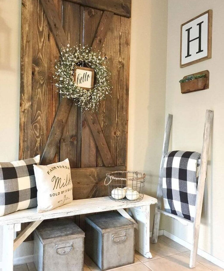 Best Rustic Farmhouse Style Home Interior Design