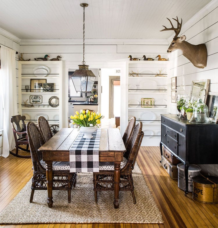 Country Style Furniture and Dining Room