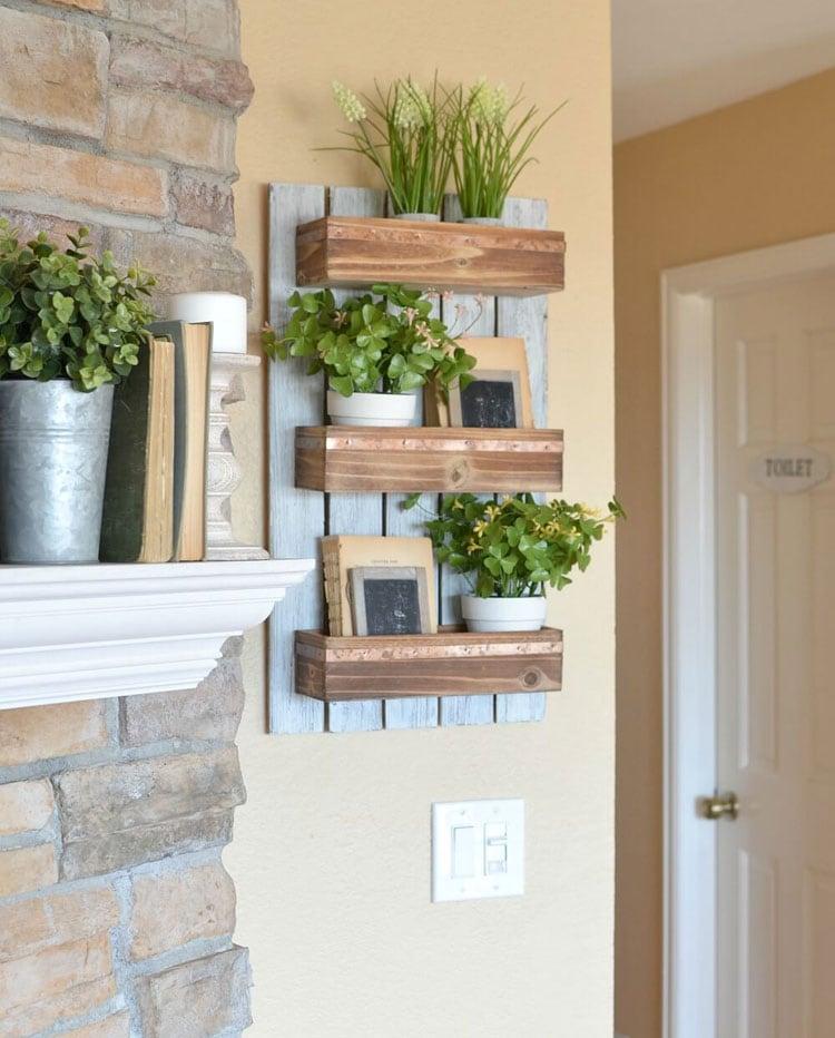 Farmhouse Interior Wall Planter