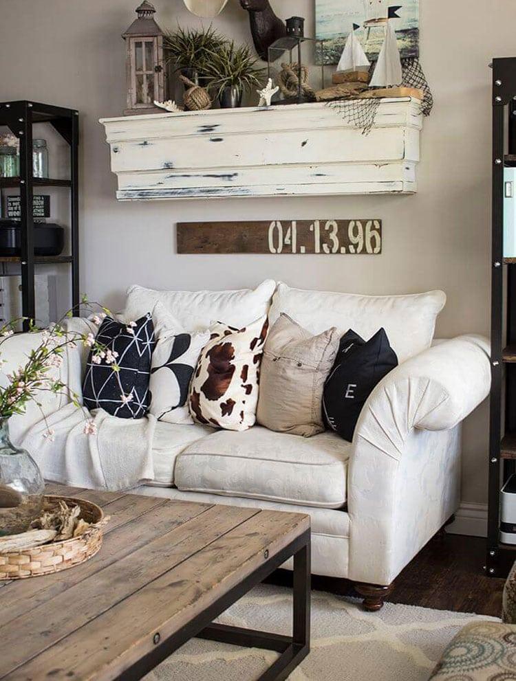 Farmhouse Living Room Style Interior Decor