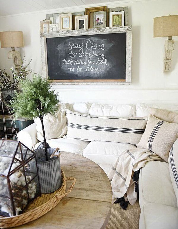 Modern Farmhouse Wall Decorations and Design Ideas