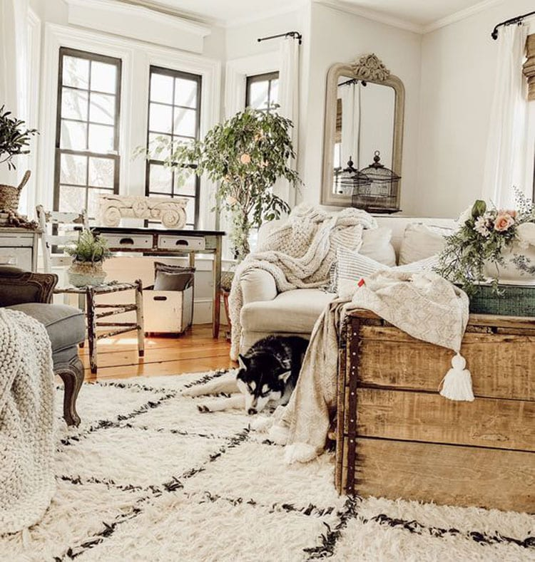 Modern Luxury Country Farmhouse Decorating Ideas