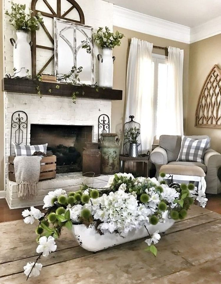Rustic Home Interior Design For Living Room