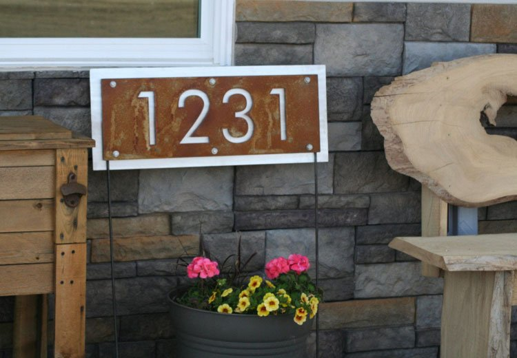 A Sign For Your Front Porch Garden