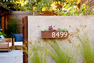 Best House Number Ideas