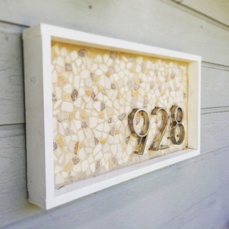Do More With Mosaics Address Numbers