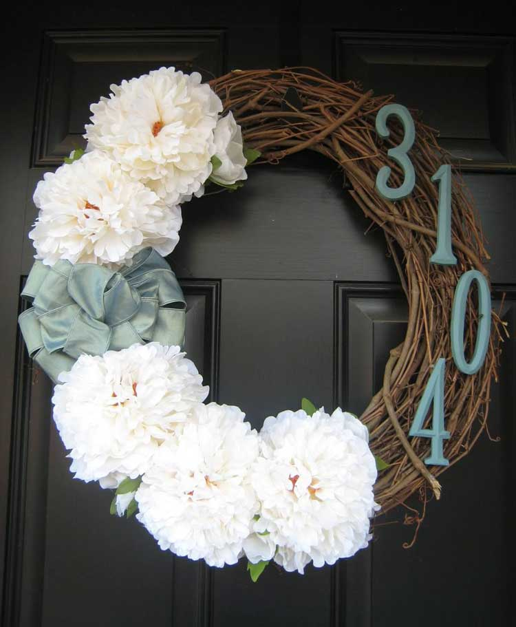 Front Door House Number Design Ideas