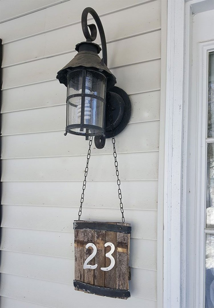Hanging Signs From Light Fixtures