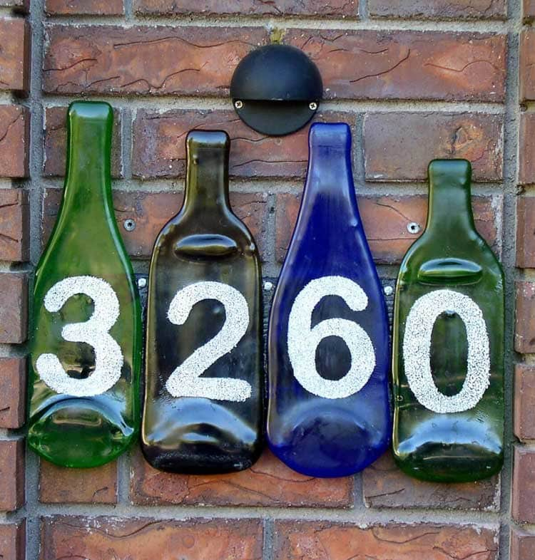 Recycle Your Interests Into A DIY Address Sign