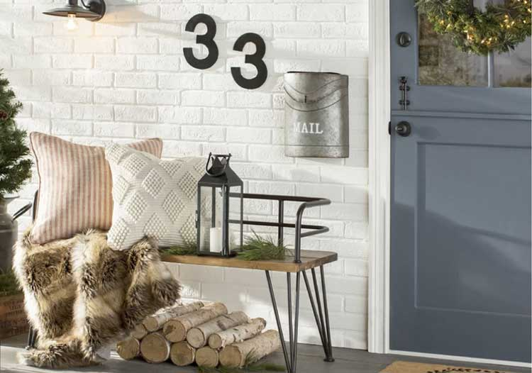 Sweet Simple House Number Ideas