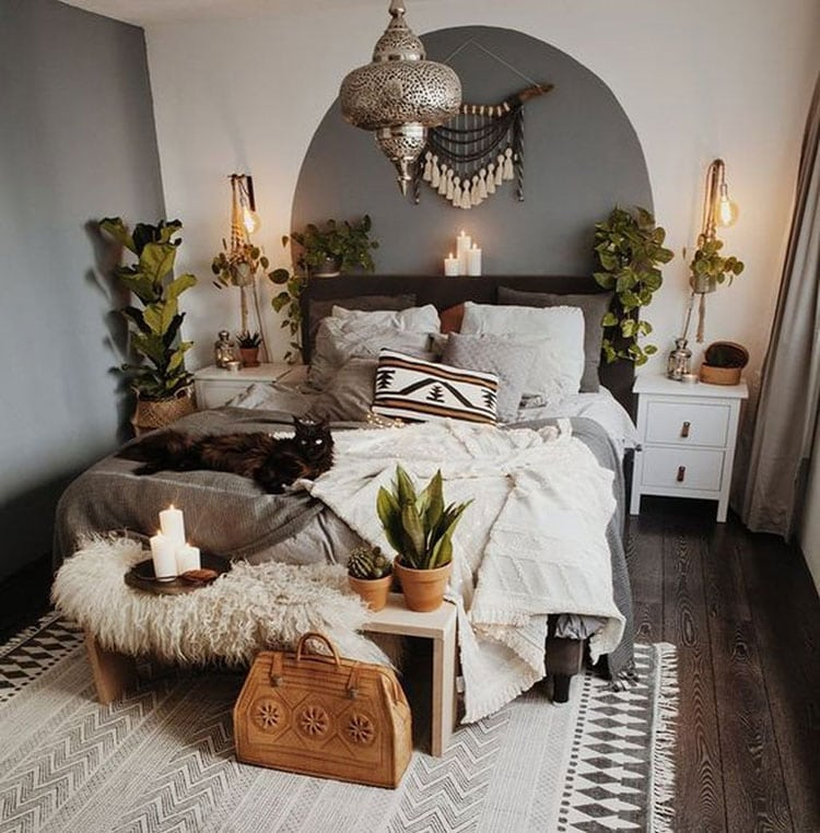 Beautiful Bohemian Bedroom Decor Ideas