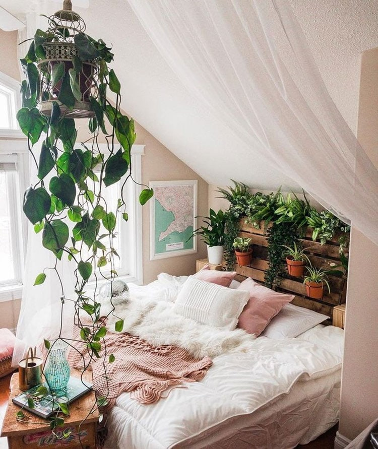 Best Small Bohemian Bedroom Decor Ideas With Plants