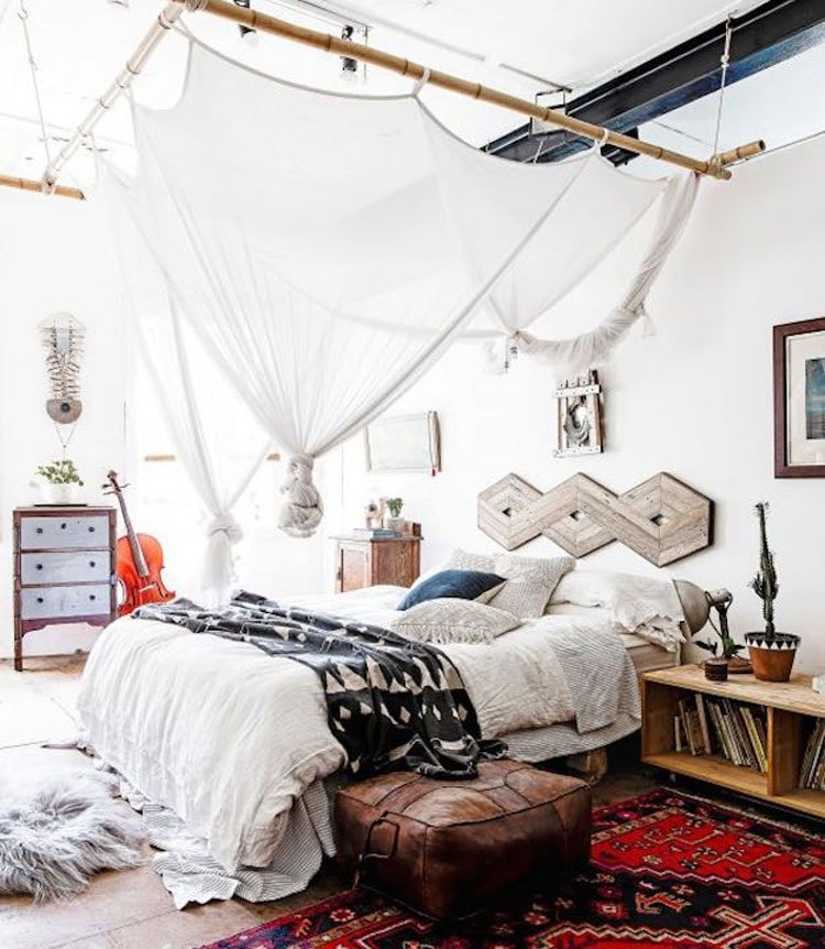 Boho Themed Bedroom Concepts