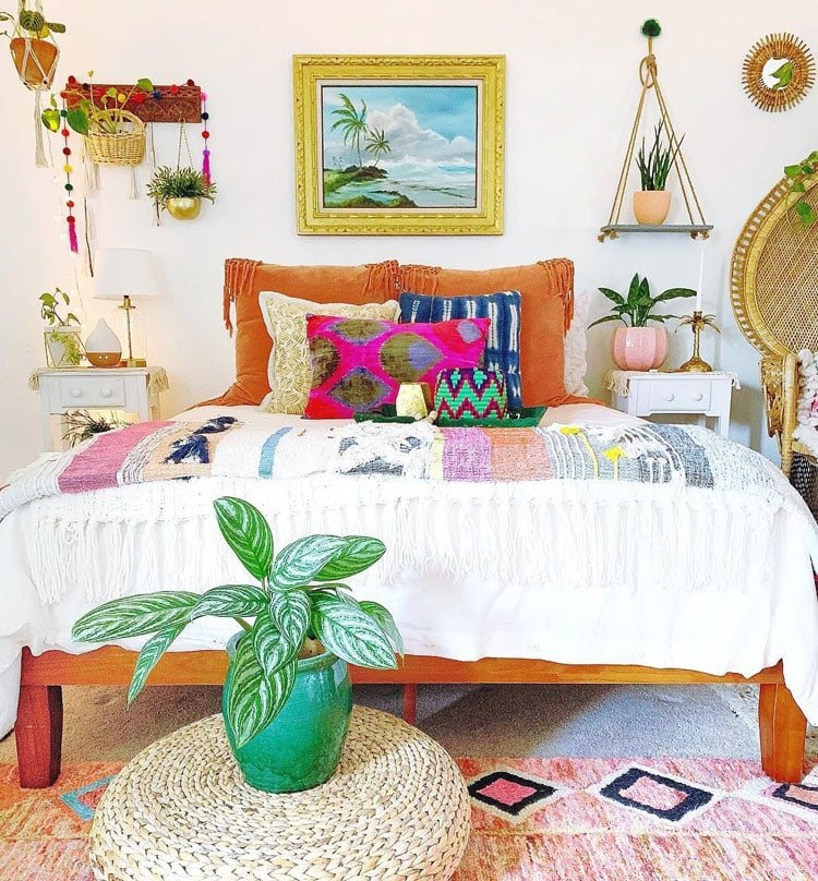 63 Bohemian Bedroom Decor Ideas 2021 Guide