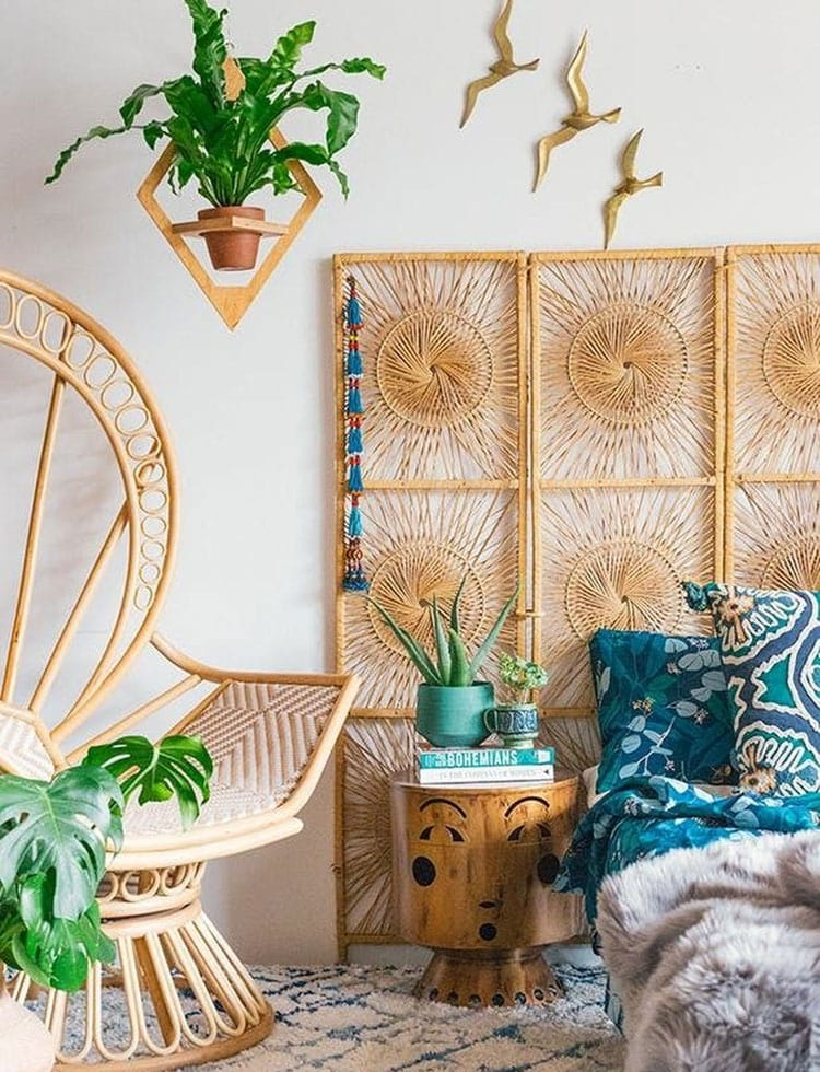 Cool Chic Boho Bedroom Headboard
