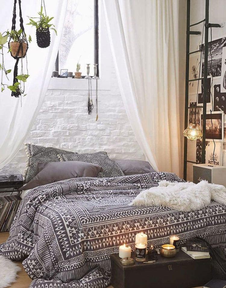 Cute Bohemian Bed