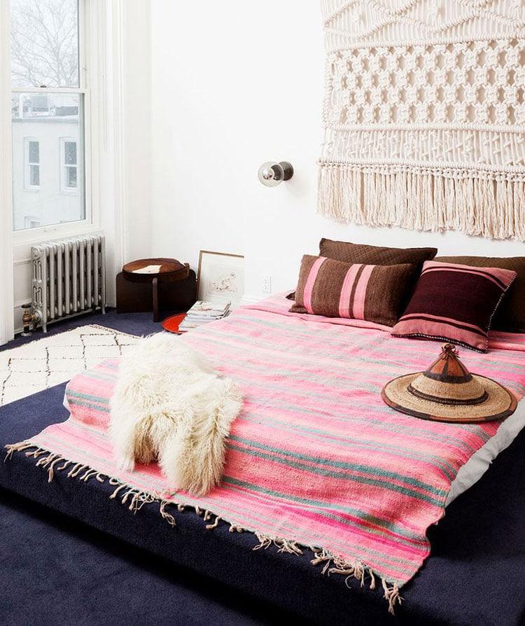 Feminine Boho Style Bedrooms