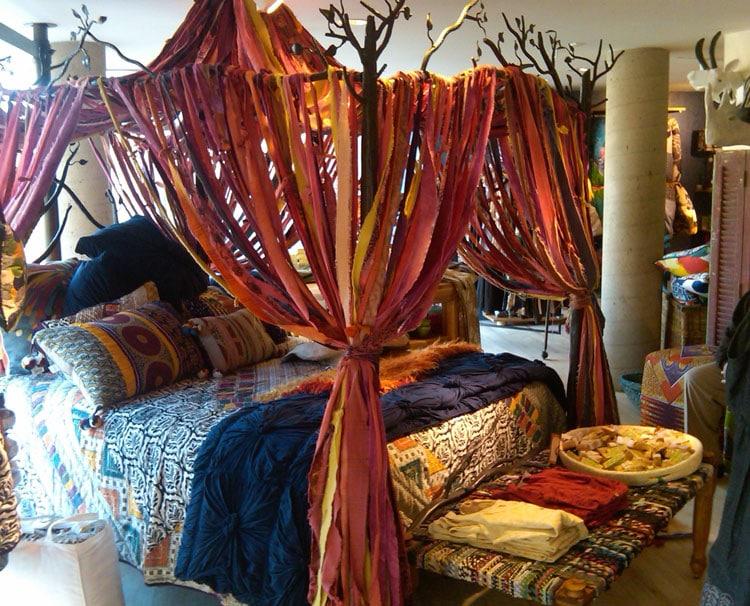 Funky Bohemian Bedroom Canopy