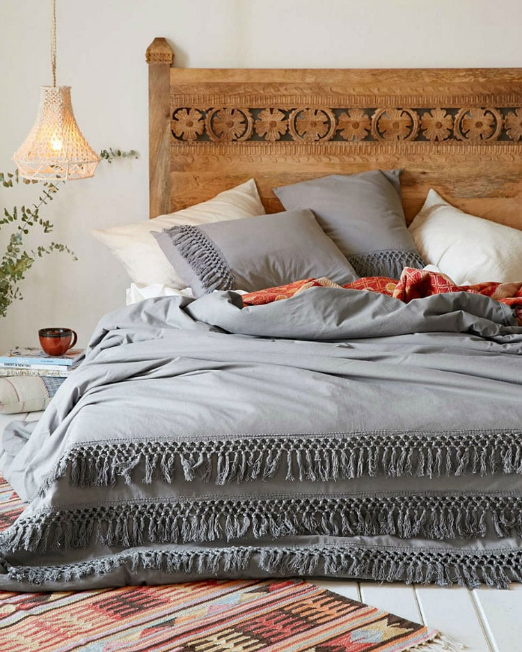 Modern Boho Bedding Decor