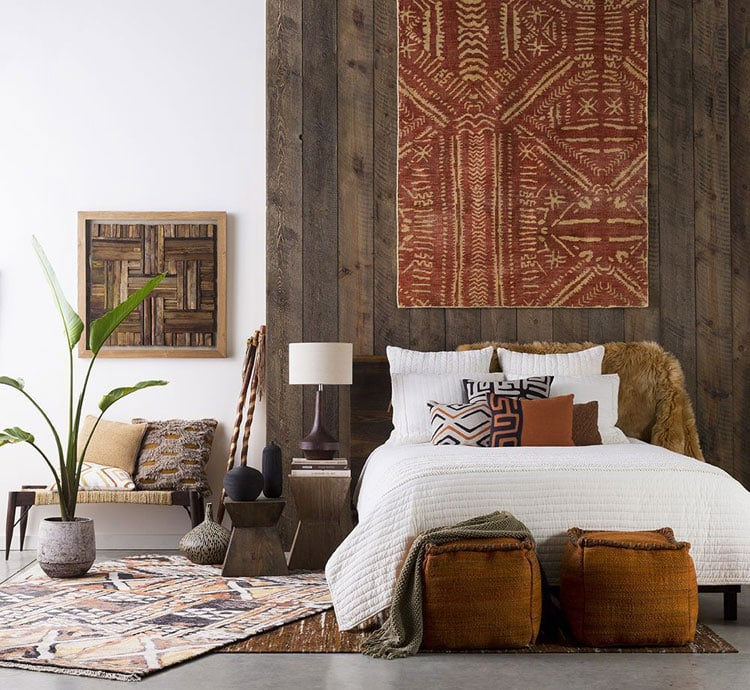 Rustic Bohemian Bedroom Styles