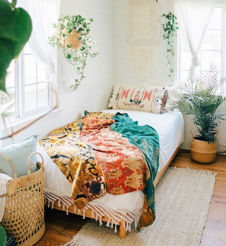 Simple Bohemian Room Decor Ideas