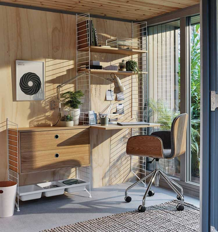 All-In-One Desks Provide Easy Home Office Solutions