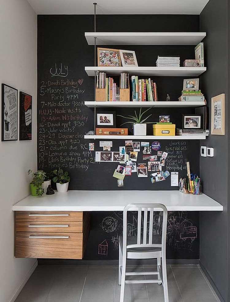 Cool Desk in Home Office Design