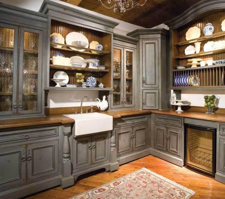 Elegant Rustic Cabinets