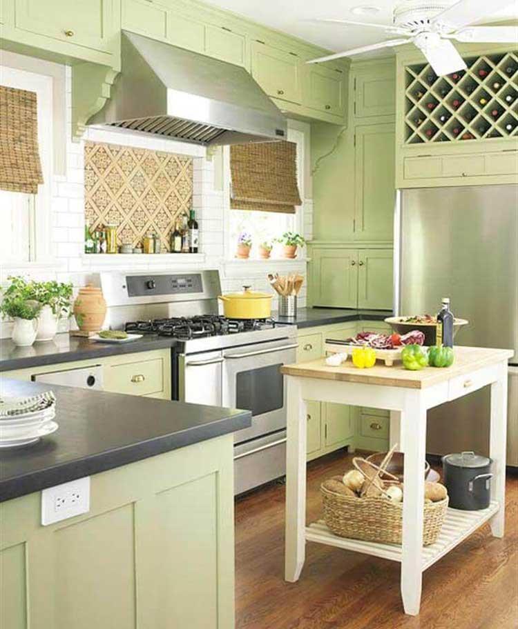 Fresh Twist on Farmhouse-Style Cabinets