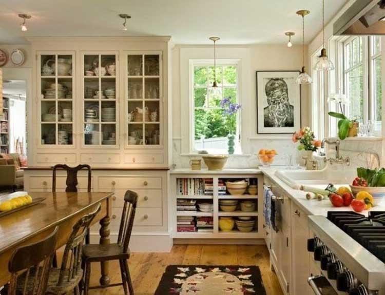 Glass-Front Cabinet Doors