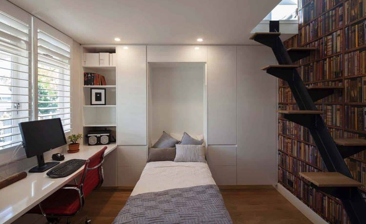 Maximize Home Office Space with A Murphy Bed