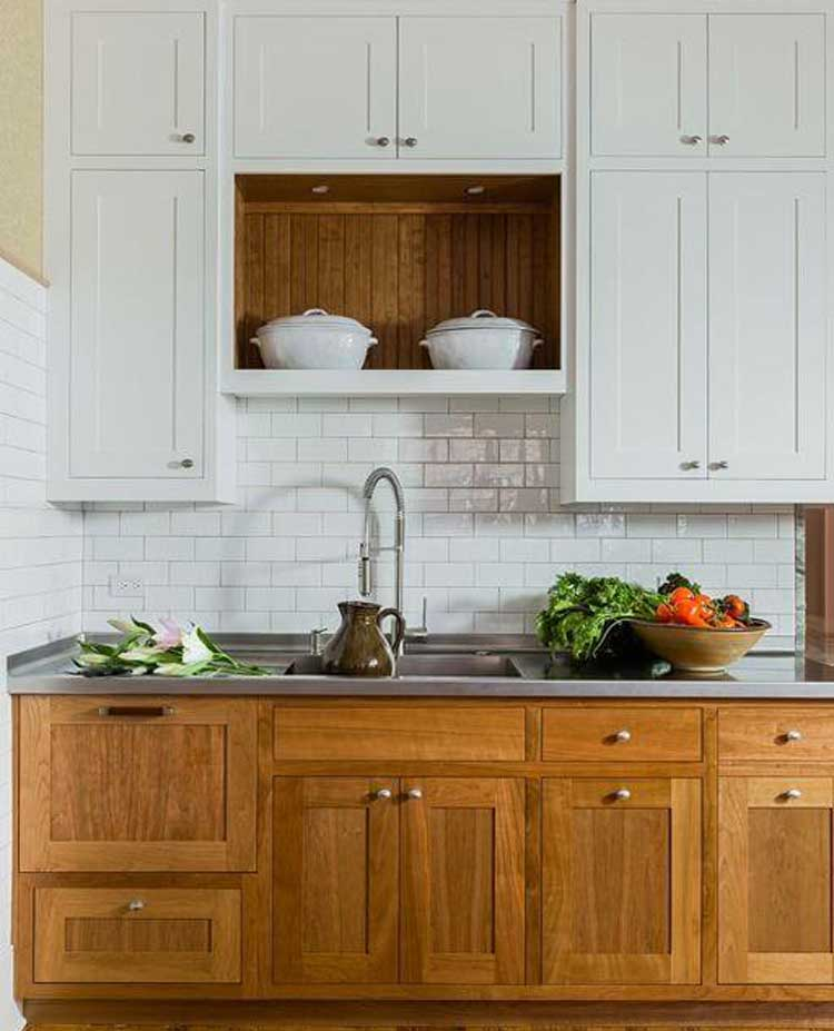 Mix Upper and Lower Cabinets
