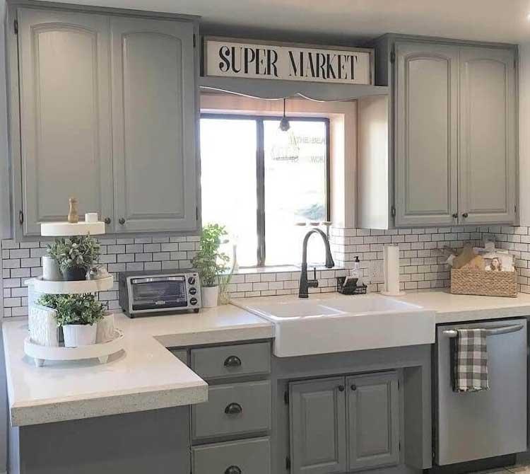 Modern Rustic Kitchen Cabinet Design Ideas