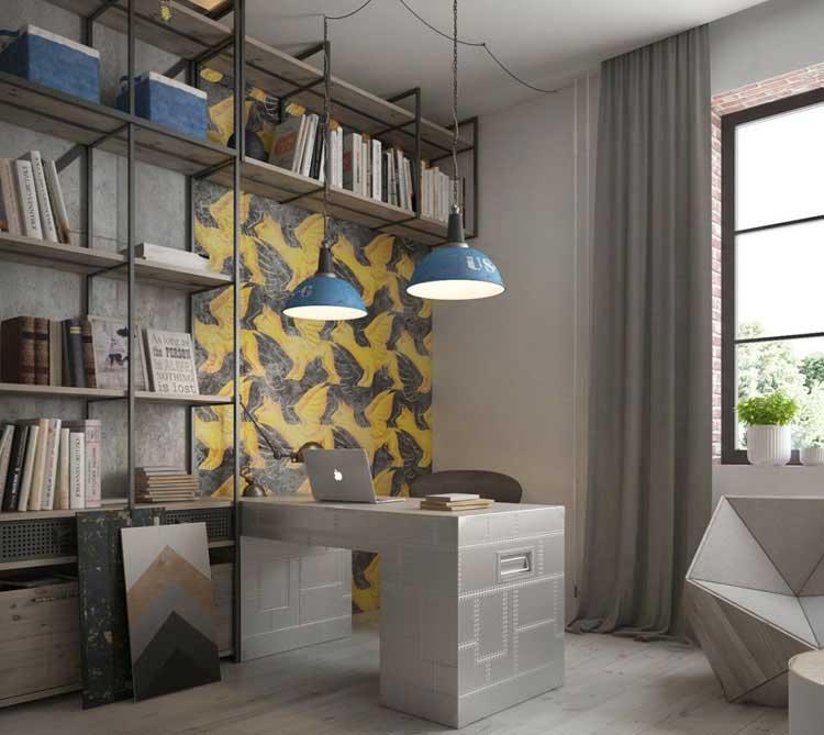 Peninsula Desk Creates Space
