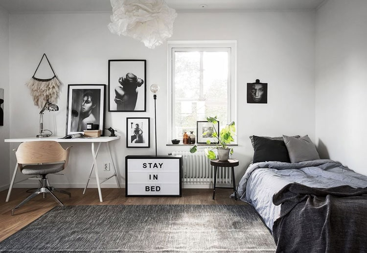 Pick A Smaller Bed To Build A Larger Home Office Space