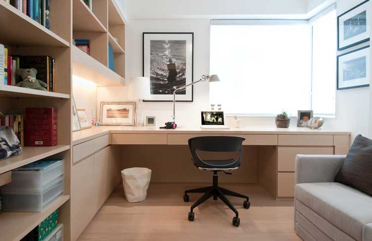 Practical Home Office in Small Room