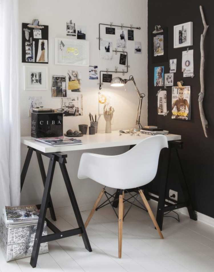 Simple Table Design Brings Contrast To A Room