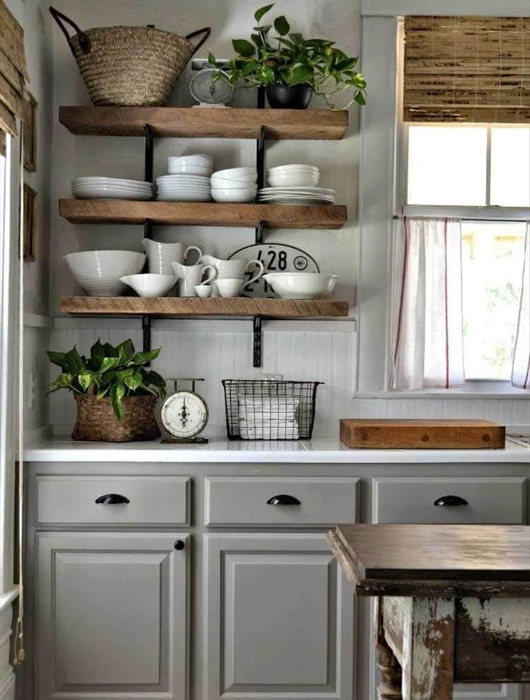 Use Wood To Create A Rustic Feel
