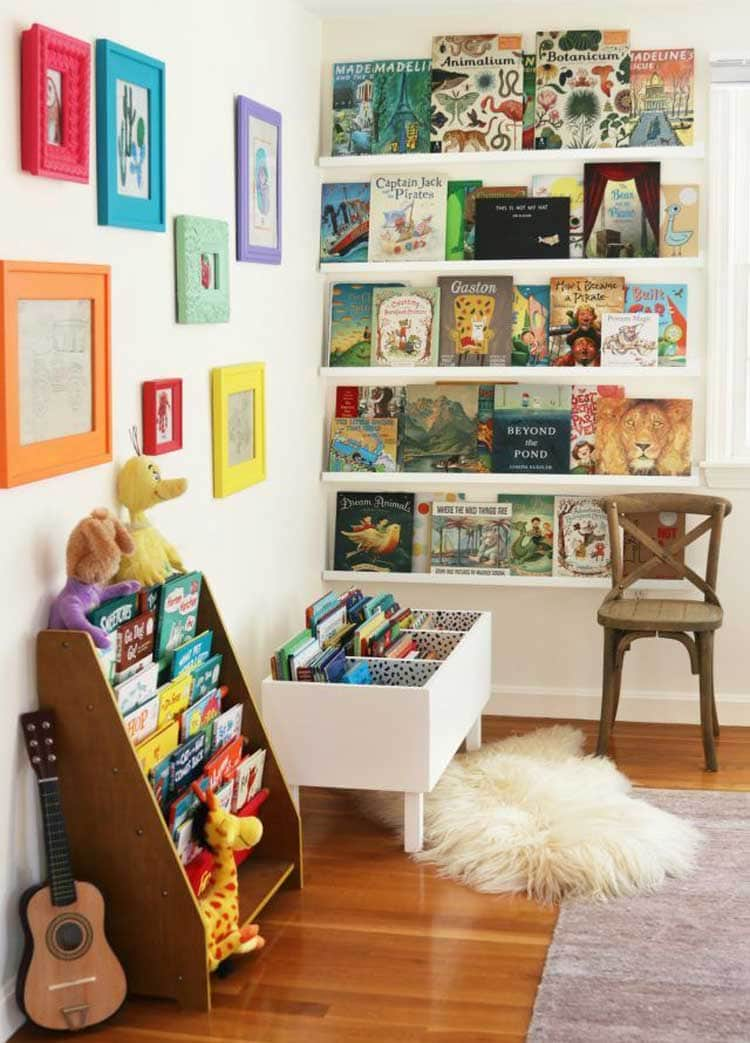 Classic Toy and Book Storage