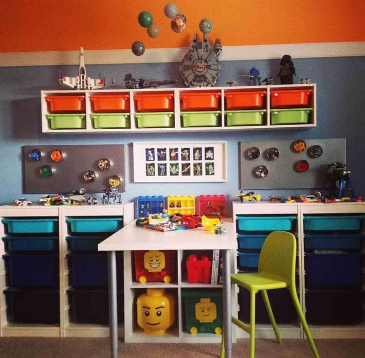 Complete Lego Organization System