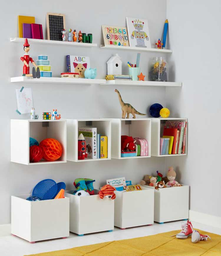 Crafty Floating Cubes Toy Organizer